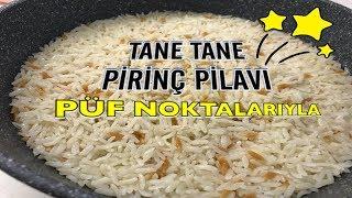Tüm Püf Noktalarıyla Tane Tane Pirinç Pilavı Nasıl Yapılır?/Gözde'nin Tenceresi
