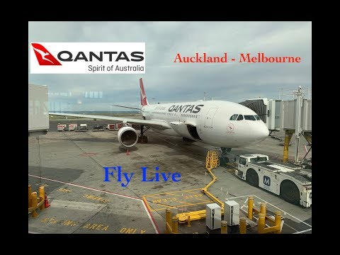 Qantas QF-154 Auckland To Melbourne Full Flight Report (Airbus A330-200)