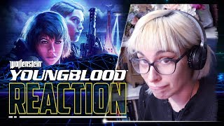 WOLFENSTEIN: YOUNGBLOOD Trailer Reaction (WOW)