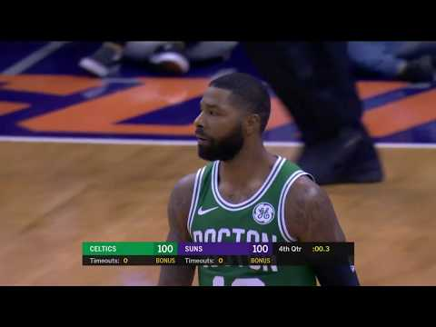 Boston Celtics vs Phoenix Suns | November 8, 2018