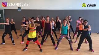 SCOOBY DOO PA PA DJ KASS Zumba Fitness By Cesar Moquete Video