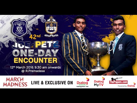 St. Joseph's College v St. Peter's College - One Day Encounter