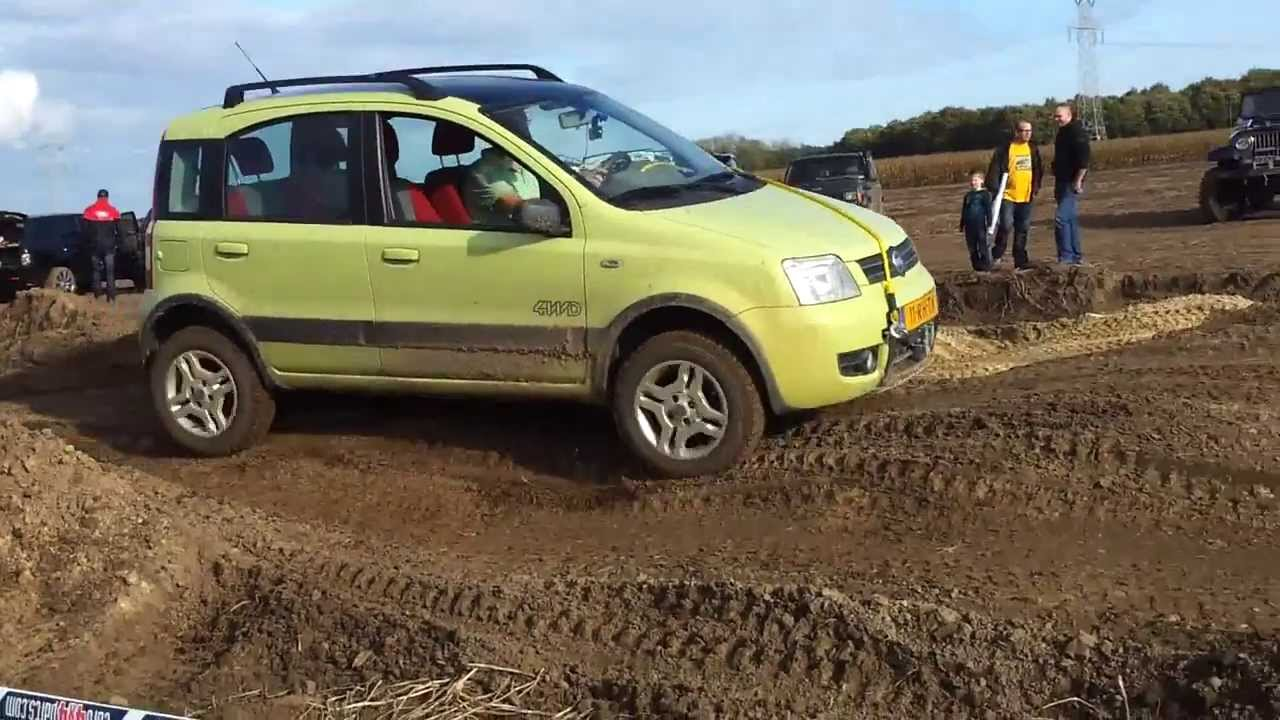 Off road budel 26 10 2013 panda 4x4 youtube for Panda 4x4 sisley off road