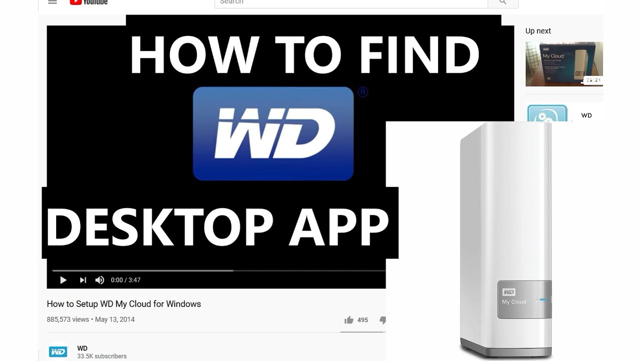 How To Download Wd My Cloud Desktop App By Alfred The Digital How To Guru Youtube