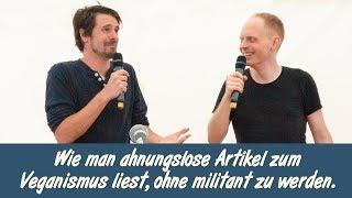 Der Graslutscher und der Artgenosse: Veganes Sommerfest Berlin
