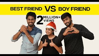 Best Friend vs Boy Friend | English Subtitle | Awesome Machi