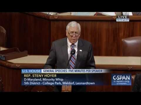 Hoyer Floor Remarks on Federal Employees