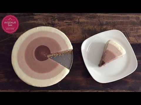 Çikolata Dalgalı Cheesecake Tarifi | Chocolate Ripple Cheesecake
