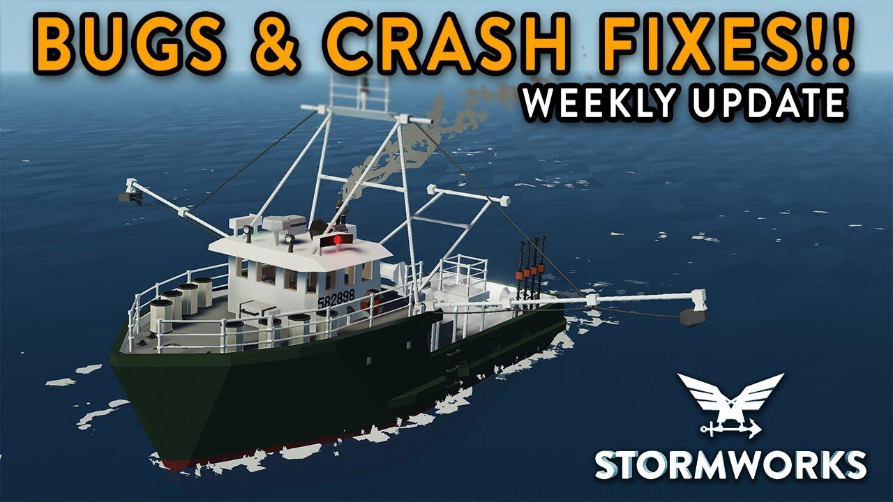 Bugs & Crash Fixes!!! - 1.2.17 Update - Stormworks