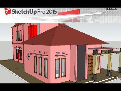 Design 3D Home using Google Sketchup : Part 1