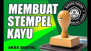 Video Tutorial / cara membuat stempel kayu mudah dan lengkap download MP3, 3GP, MP4, WEBM, AVI, FLV November 2018