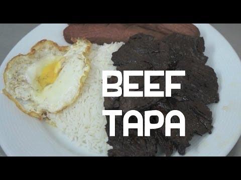Paano magluto Beef Tapa Recipe - Filipino Beef Jerky - Tagalog Pinoy Cooking