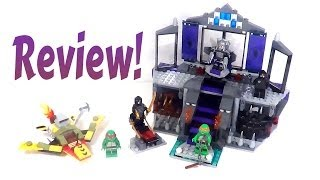 Lego Teenage Mutant Ninja Turtles 79122 Review: Shredder's Lair Rescue
