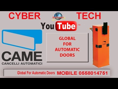How to install Automatic gate Barriers G6000 by (CAME ) CYBER TECH