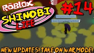 NEW UPDATES! TAKE ON WAR MODE! | Roblox: Shinobi Life (Naruto) - Episode 14