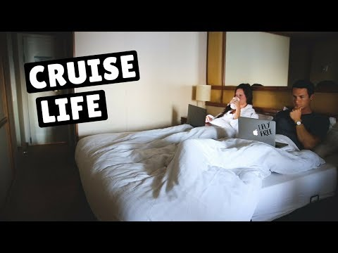 TYPICAL DAY AT SEA | 15 DAY REPOSITIONING CRUISE