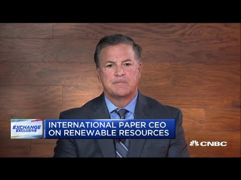 International Paper CEO on China trade tensions