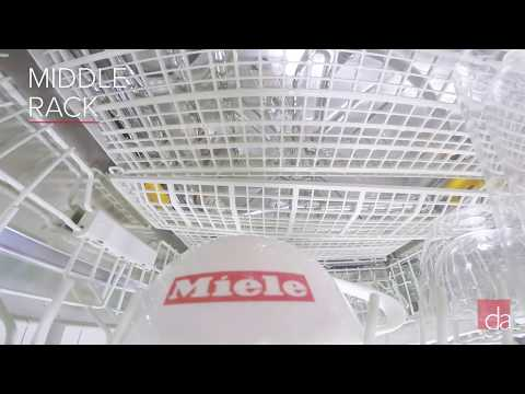 Inside A Dishwasher - All 3 Levels of a Miele Dishwasher Wash Cycle [GOPRO]