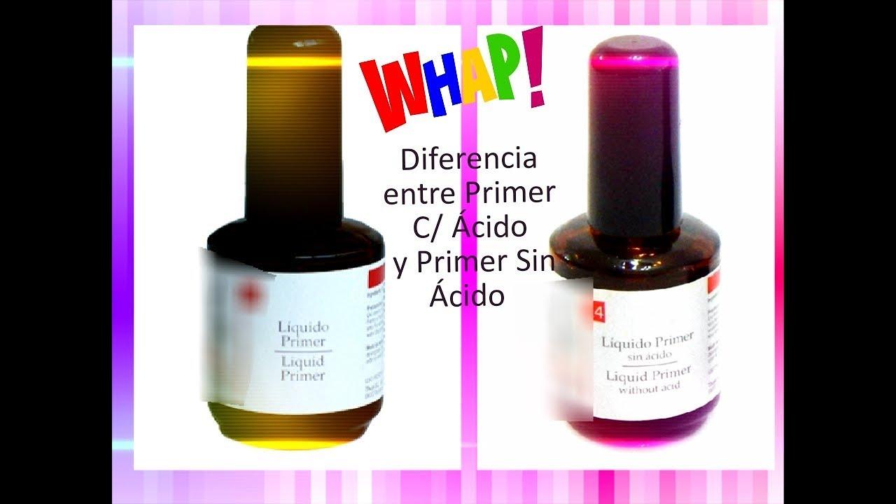 Primer Diferencia De Primer Con ácido Y Primer Sin ácido