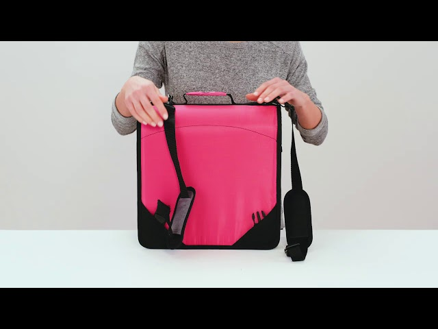 The King Sized Zip Tab Backpack Binder