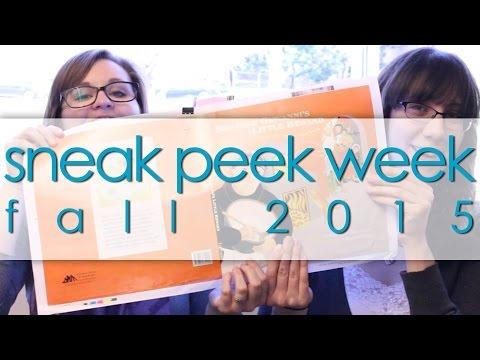 Sneak Peek Week: Fall 2015 Titles