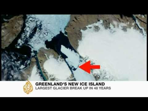 Giant ice block baffles scientists