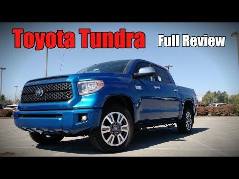 2018 Toyota Tundra: Full Review | Platinum, 1794 Edition, TRD Sport, SR5 & SR