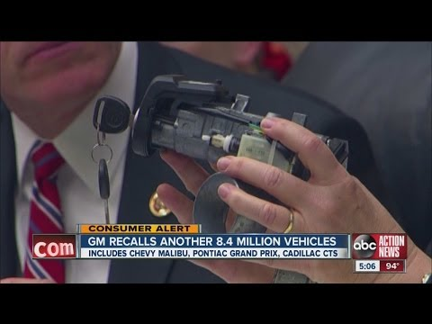 GM issues recall on 8.4M vehicles