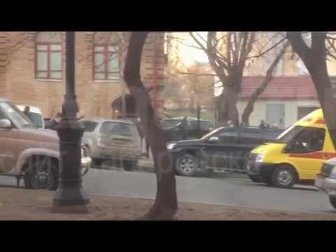 Нападение на здание ФСБ в Хабаровске