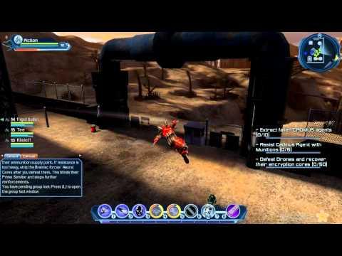 DC Universe Online - Area 51 Alert Mission pt.1
