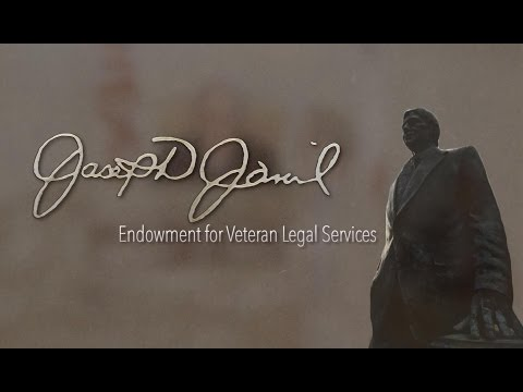 Joe Jamail Endowment for Veteran Legal Services