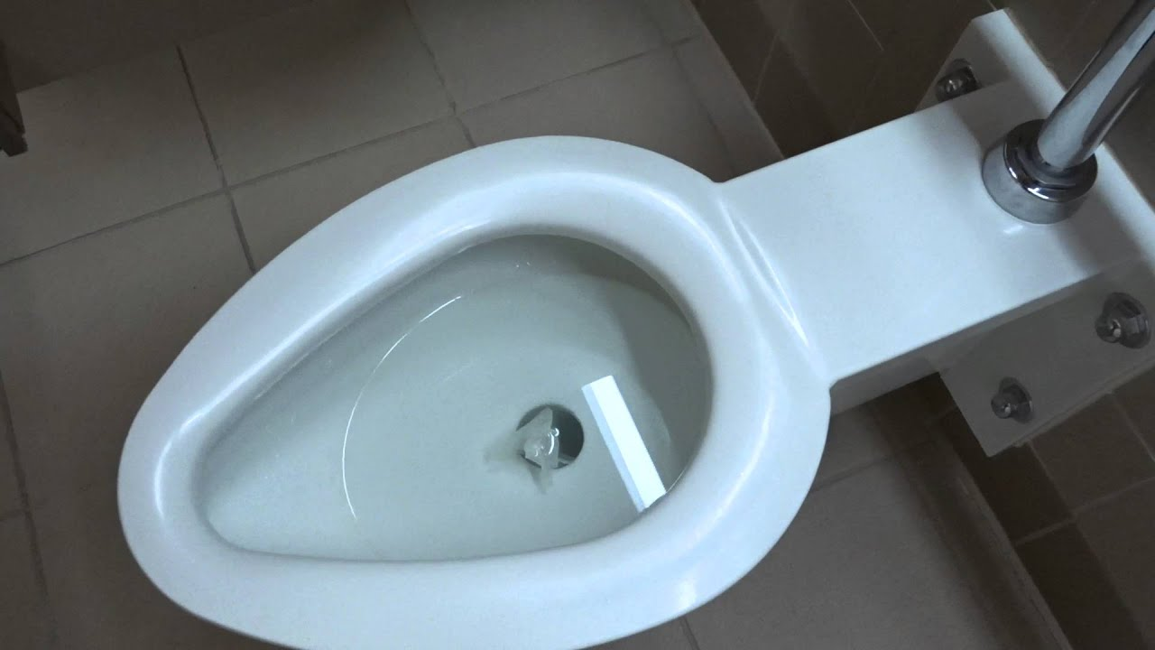 Bathroom tour: Rare White metal toilets at Don Clausen Fish Hatchery ...