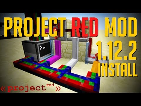 PROJECT RED MOD 1 12 2 minecraft - how to download and install Project Red  1 12 2 (with forge)