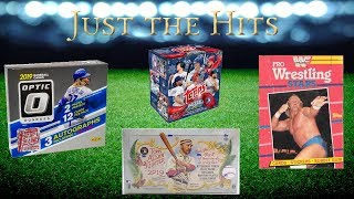 Just the Hits - Weekly hits recap  - Optic FOTL, 1st Wrestling Packs from Topps, & more!