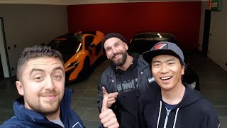 Larry Chen & The Hoonigans stopped by the Ring
