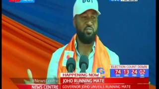 Governor Hassan Joho revives debate, brings a new twist on his KCSE's D- certificate