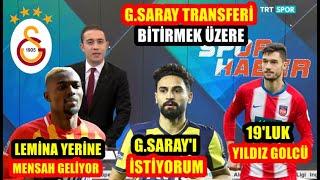 Galatasaray'da Mensah ve Mehmet Ekici Bombası l Genç Golcü l TRANSFER