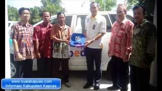 Pemenang Hadiah Utama Mobil Xenia Bank BRI Kuala Kapuas 2014