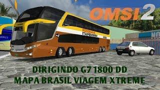 OMSI 2 - DIRIGINDO MARCOPOLO G7 1800 DD (MAPA BRASIL VIAGEM XTREME)