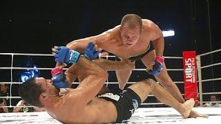 Фёдор Емельяненко удары руками в спортзале и на ринге