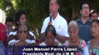 Reciclando basura por alimentos en José María Morelos