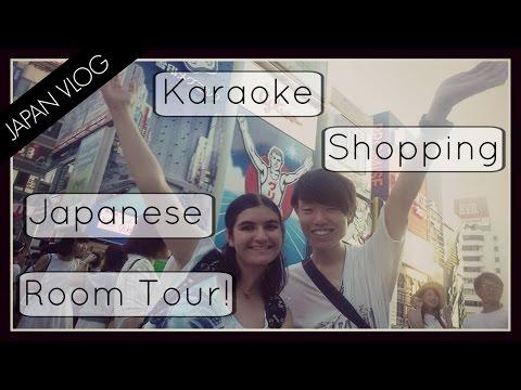 Karaoke, Shopping & Japanese Room Tour   JAPAN VLOG [Day 2]