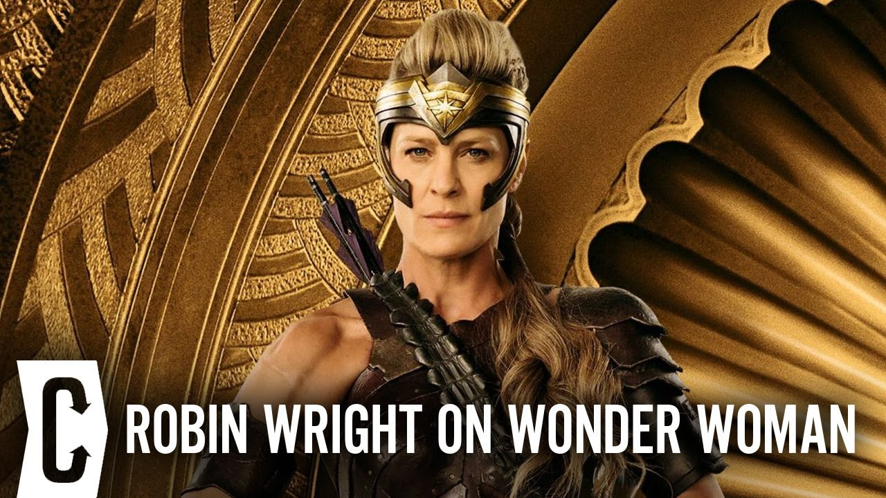 Wonder Woman: How Patty Jenkins Convinced Robin Wright to Play Antiope