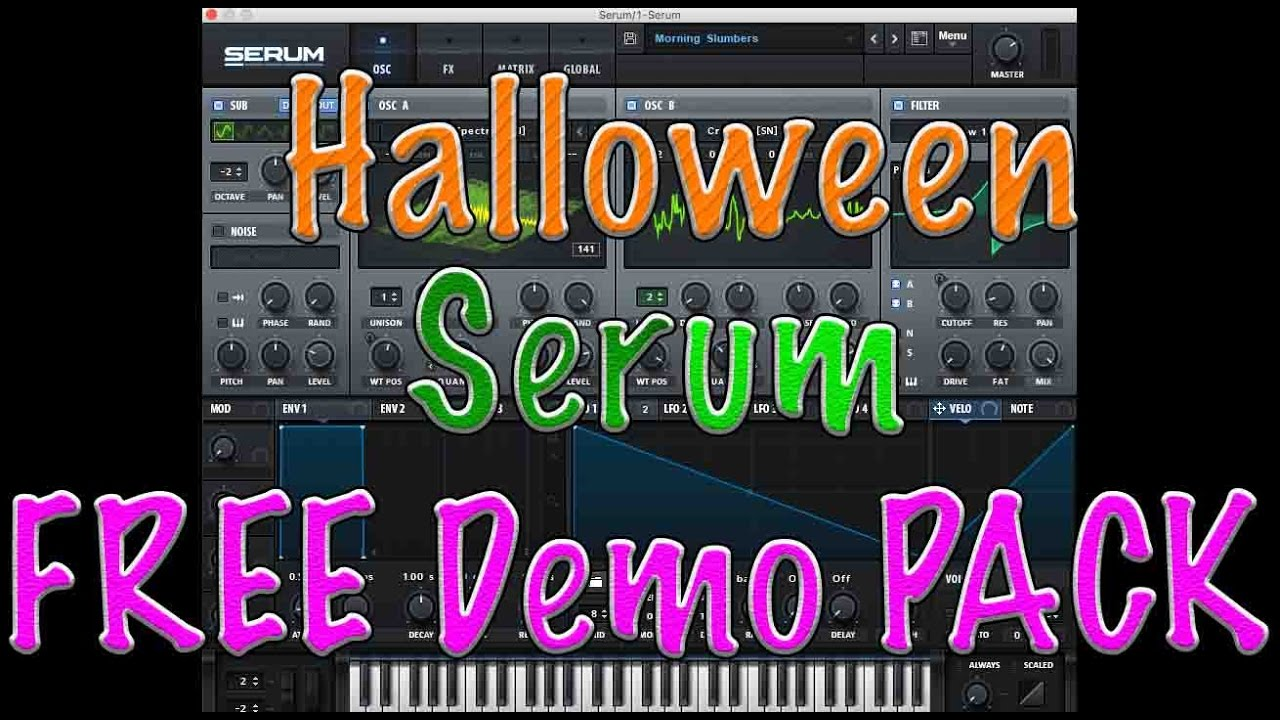 TUTORIAL | NEW Serum Preset Install Windows & Mac Special FREE Demo Pack DL  In Description