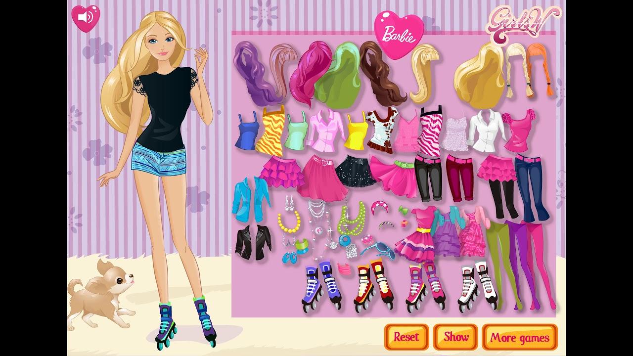 Barbie on Roller Skates (Outfit #10)
