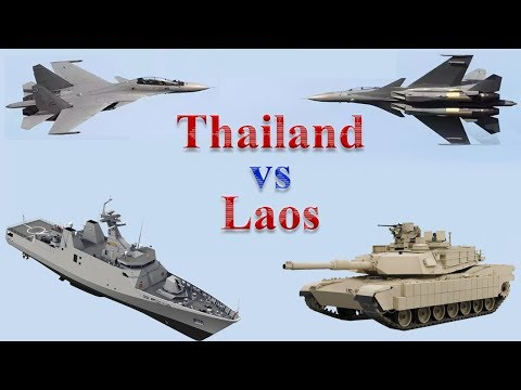 Thailand vs Laos Military Comparison 2017
