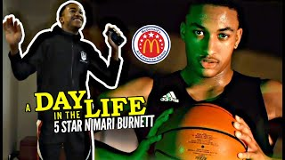 Nimari Burnett Is a McDonald's ALL AMERICAN!!! Day In The Life w/ The TOUGH Chicago Hooper!!