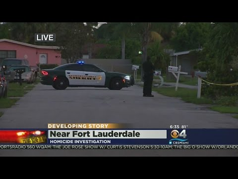 Deadly Shooting Near Ft. Lauderdale
