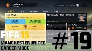 FIFA 15 Career Mode Manchester United #13 Transfer Deadline