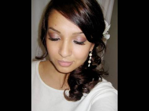 Wedding Makeup Tutorial Soft Bronze Plum